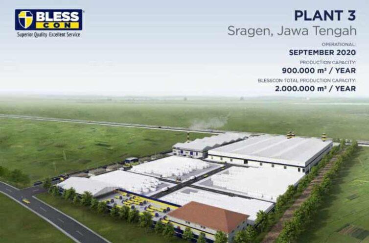 Blesscon AAC Block Plant 3 Sragen (Ongoing)